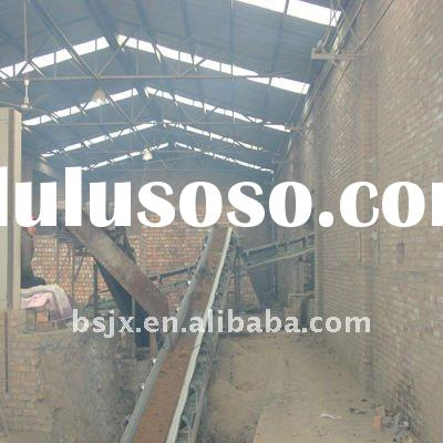 Roof tile making machine for tile making plant