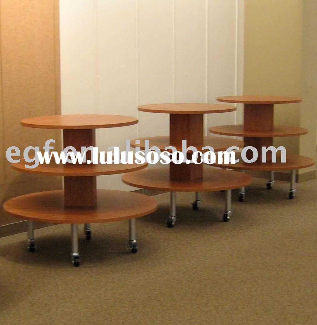 Round Display Table / Display Rounder / Tiered Table