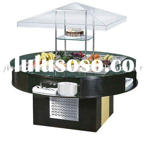 Round Type Salad Bar/restaurant equipment/hotel equipment /kitchen equipment