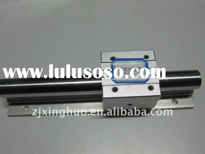 SBR25 linear round guide and linear motion ball bearing sliding unit