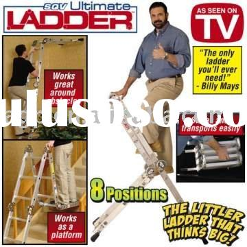 SQV ultimate ladder Aluminum Telescoping Multi Ladder 8 positions combination articulated ladder