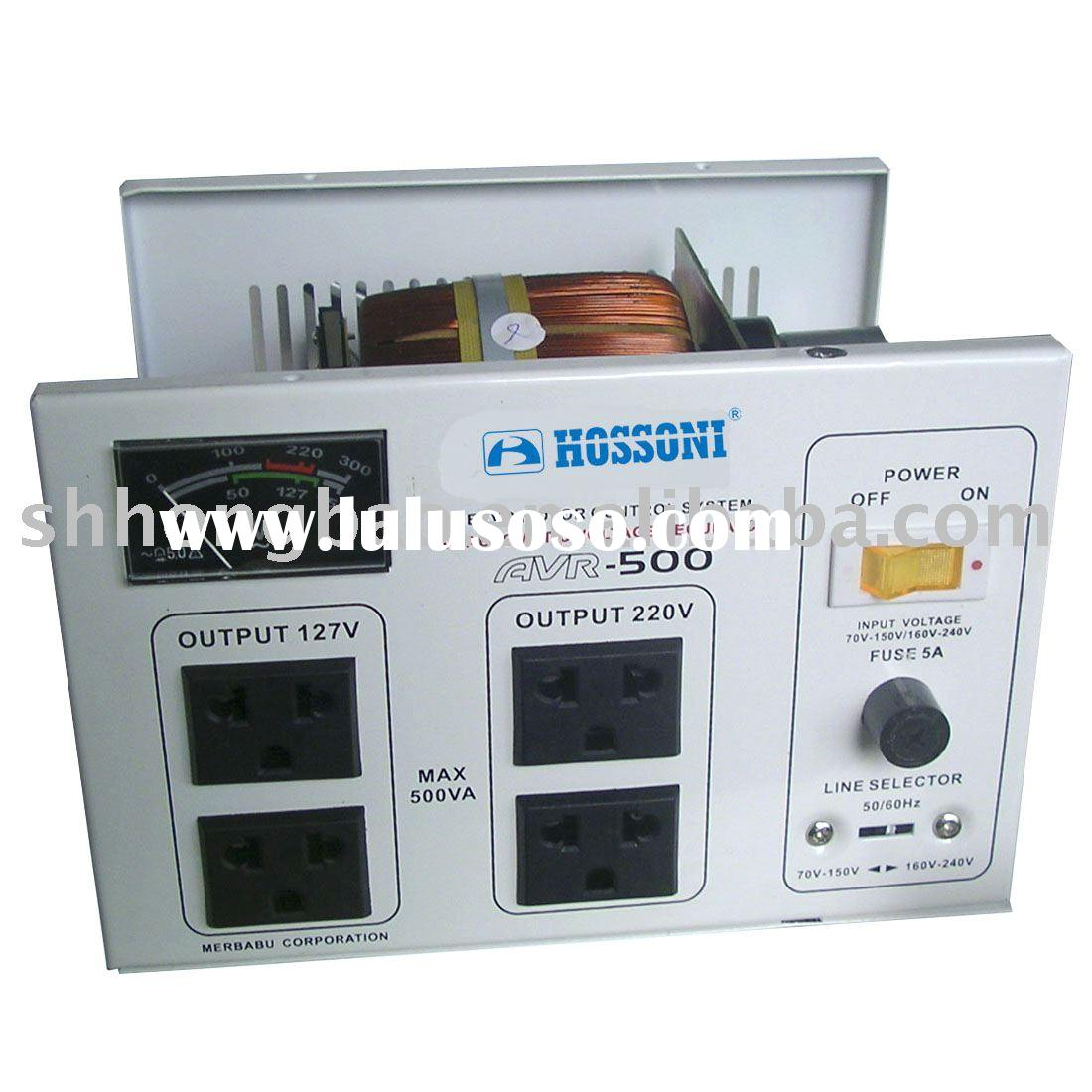 SVC AC automatic voltage regulator server motor control