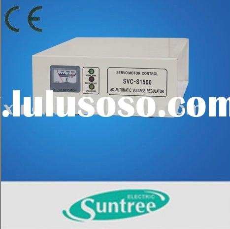 SVC-S Fully AC Automatic Voltage Regulator(Servo Motor Type)