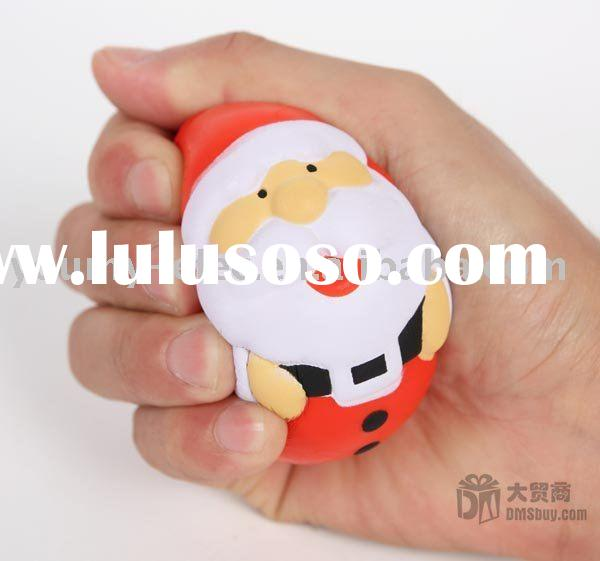 Santa Claus Stress Ball,Christmas Decoration