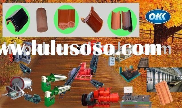 Sell Clay Tile Making Equipment, Clay Hollow brick plant, Clay Hollow brick machine