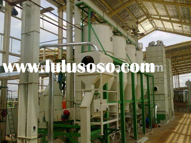 Semi-Auto modern 10TPD Parboiled rice mill plant