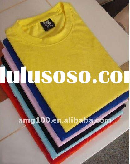 Short Sleeve Cotton T-shirts (OEM Service)