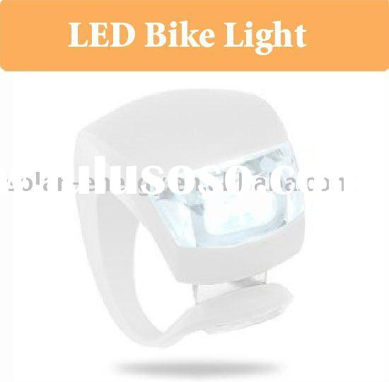 Silicone bicycle led light-LED bike light