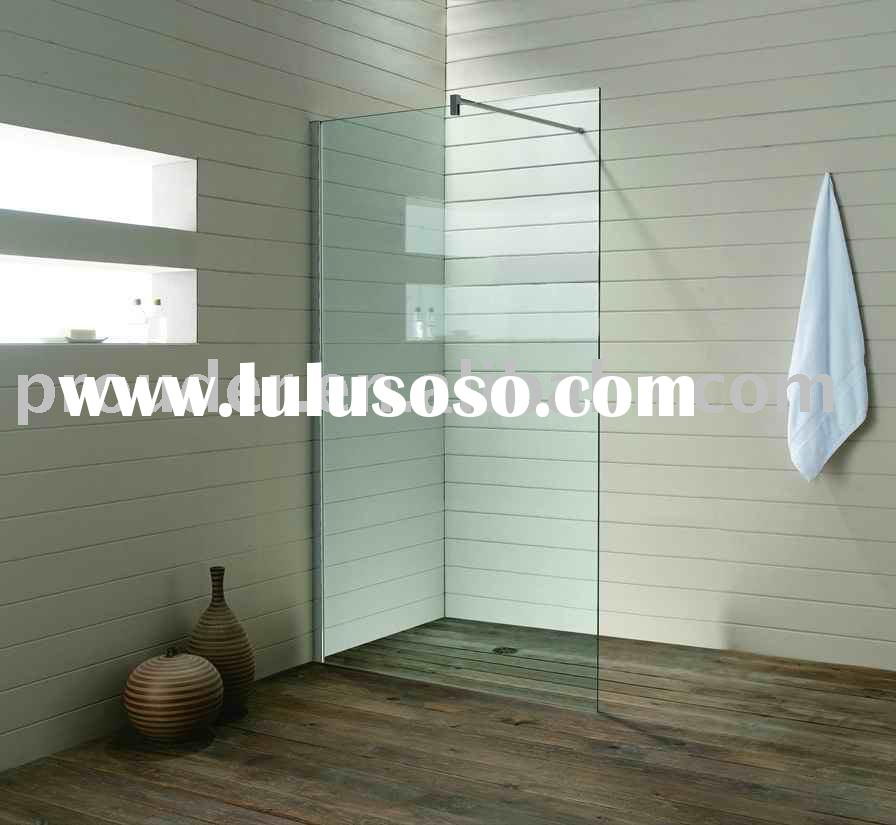 Simple Walk-in Shower Panel MANAUS(simple frameless shower screen,walk-in shower enclosure)