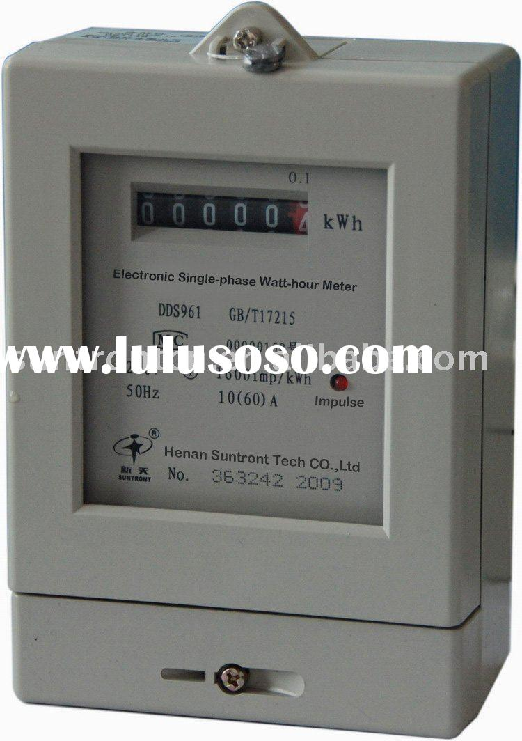 Single Phase Meter : Phase electric meter manufacturers