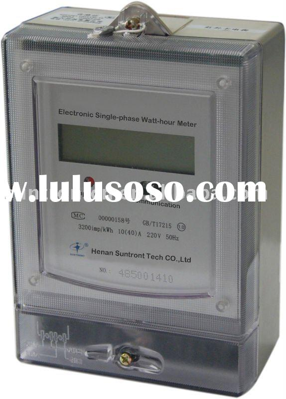 Single-phase Electronic Energy Meter (DDS-4)