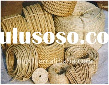 Sisal Rope/Manila/Abaca/Hemp rope for ships/Sisal rope for bing safety