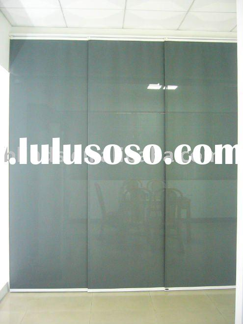 Bamboo Sliding Panel Track Blinds: Window Blinds Sliding Panel Track, Window Blinds Sliding