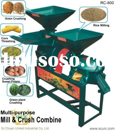 Rice Milling Machine Drawing Small Scale Rice Mill