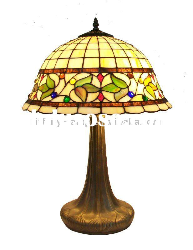 Small fruit Tiffany Table Lamp