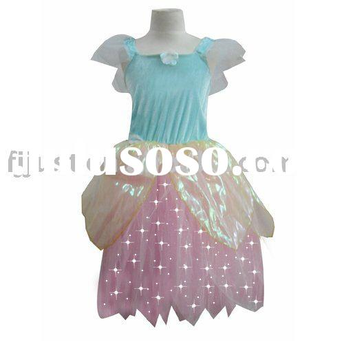 Special Light Up cheap christmas dresses halloween costumes for kids