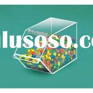 Storage food box-Acrylic Candy Bin