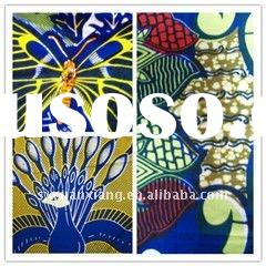 "Supply Real Wax 24s,72*60,54"" Printed African Fabric"