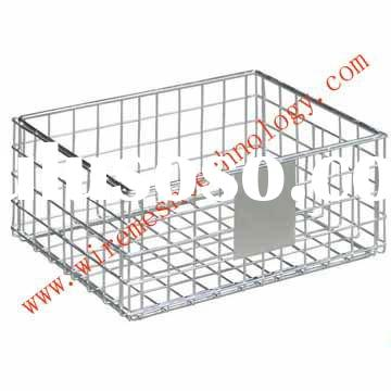 Supply SUS304 stainless steel wire mesh basket
