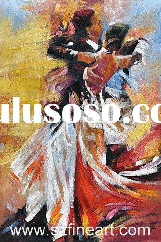 Tango Dance People Oil Painting on Canvas of new design