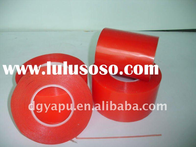 Tesa Double sided adhesive tape wite red film