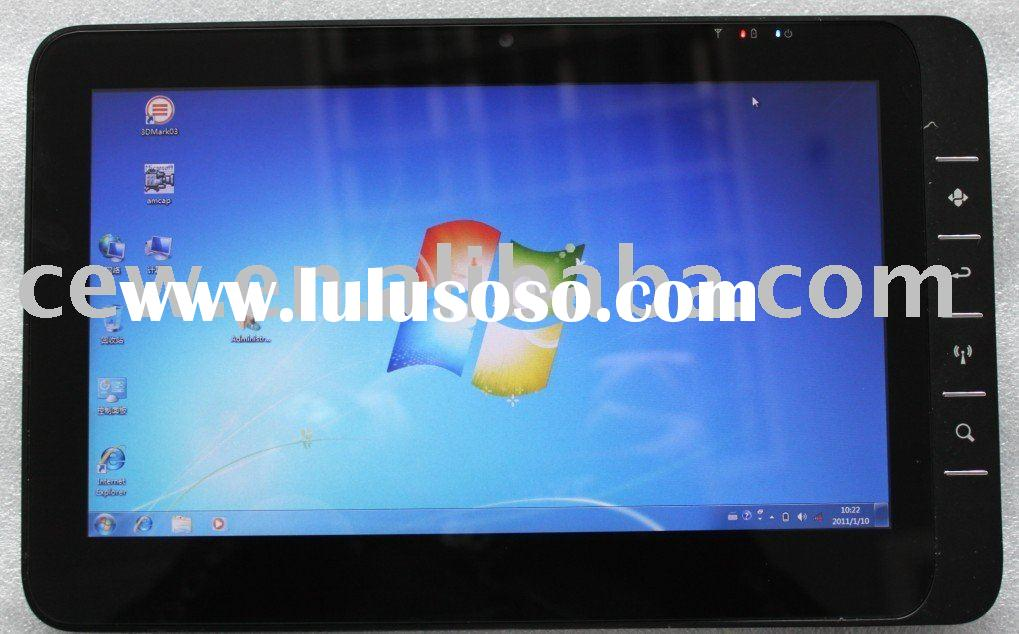 Teso Ultra Thin Capacitive Multi-Touch Panel X86 tablet pc 3G windows7 and Android dual boot system,