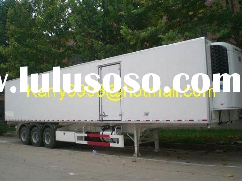 Three Axles Refrigerated Van Semi-Trailer, Reefer Van Semi-Trailer, Box Van Semi-Trailer, Van Semi-T