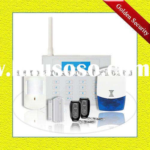 Timeproof touch keypad alarm system GSM wireless