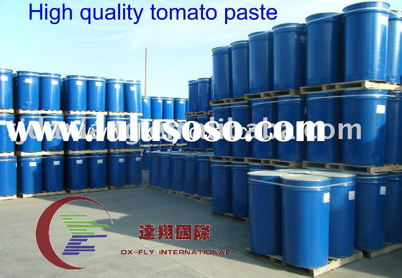 Tomato paste in drums 28-30% 36-38% brix cold breake )