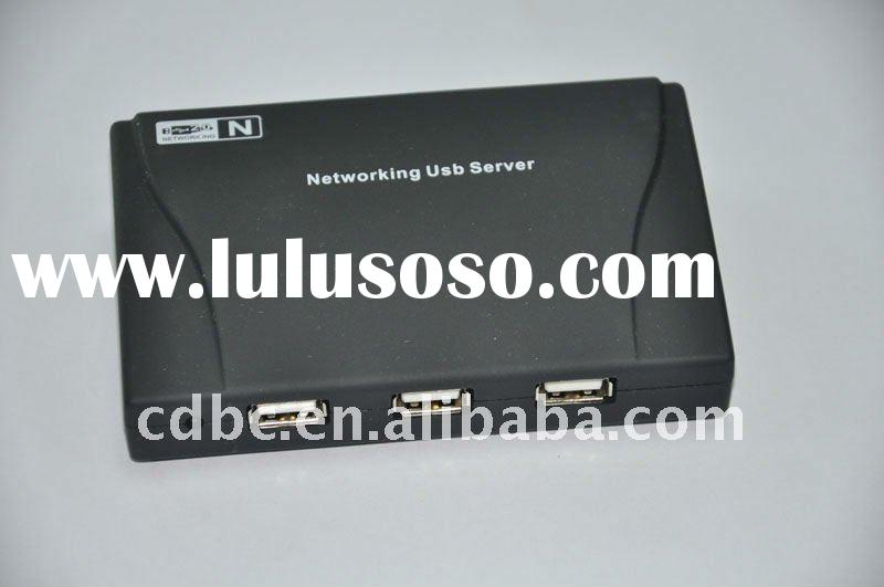 USB Network Server --4 Port USB HUB Lan Network Server