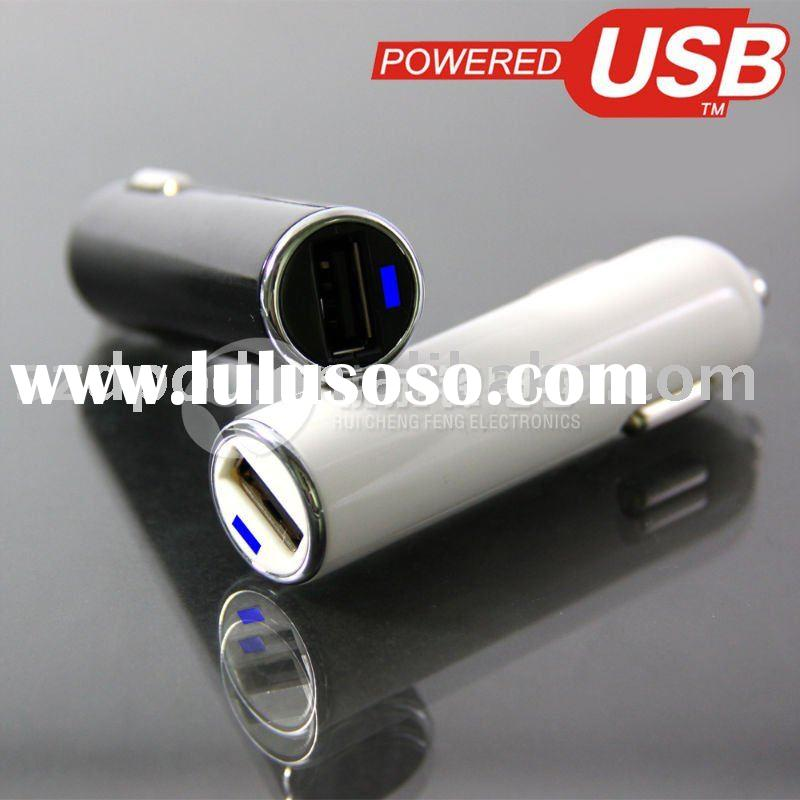 USB auto car mobile phone charger adaptors