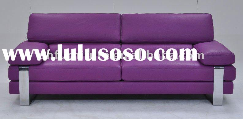Upholstery modern leather sofa