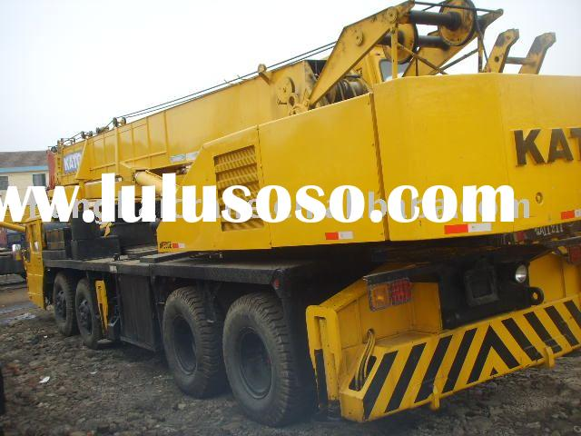 Used construction equipment for sale KATO NK500-E 50t in good working condition ( used kato crane, u