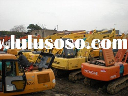 Used construction machines(second hand heavy equipments)
