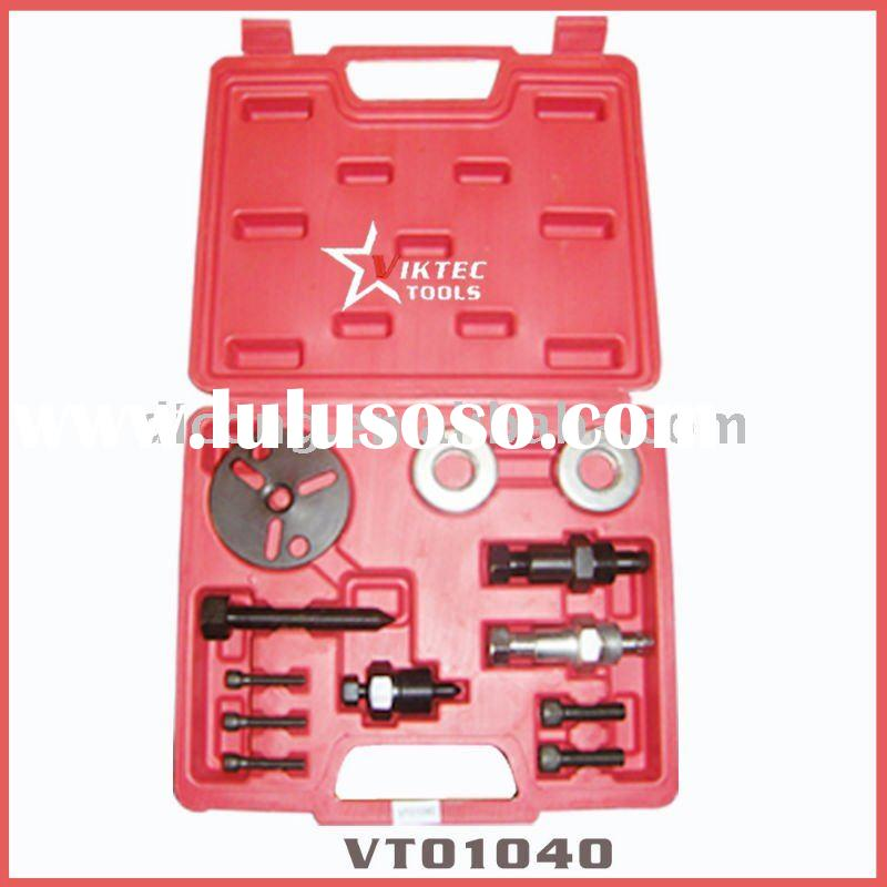 Vehicle Tools 12pcs auto repair tools, A/C Compressor Clutch Remover Kit (VT01040)
