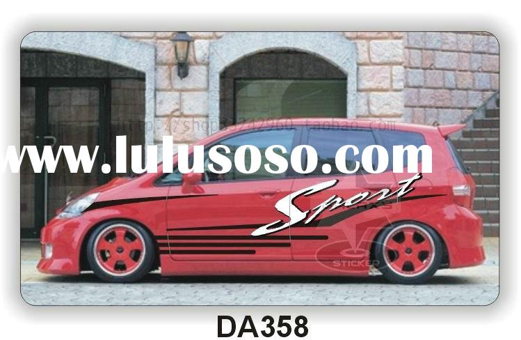 Vehicle Wrapping Car/Auto Body Vinyl Graphic Custom Stickers Sport DA358