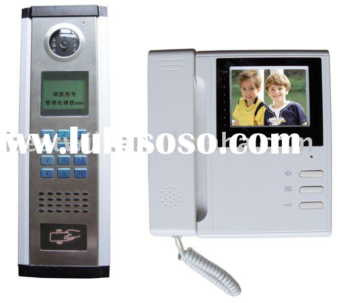 Video door phone - access control system for