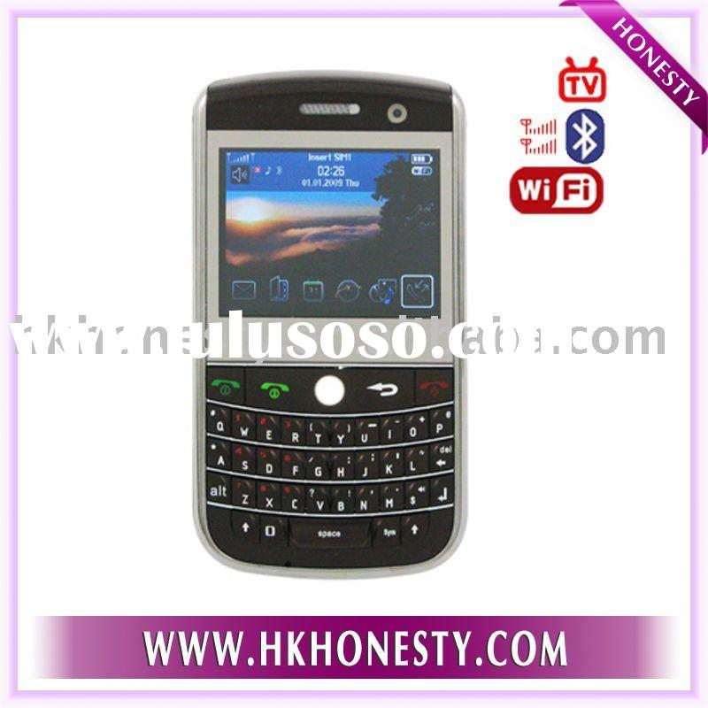 W9630 WIFI TV Phone Qwerty Keyboard JAVA MSN Skype 4GB Memory OEM Mobile Phone Brand Cell Phone