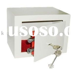 Wall Safe Deposit Box,key lock safe