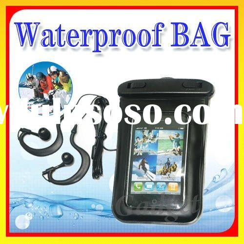 Waterproof Armband Necklace Bag Case + Headphone for iPhone iPad or MP3 Player IPX8