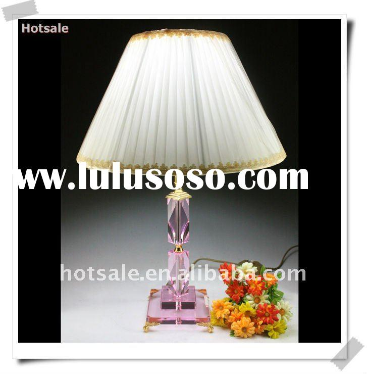 Wholesale decorative crystal table lamp for bedroom&2011 modern crystal table lamp&decorativ