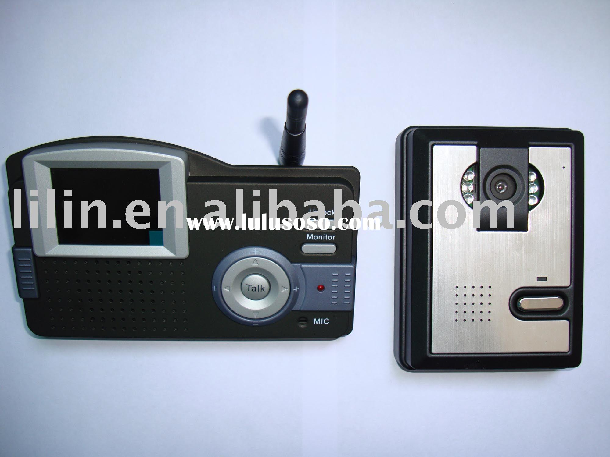 Wireless Access Control System with Remote Unlocking,Image Storage,E-calendar,E-thermometer and Nigh