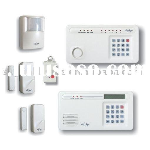 Wireless Alarm System, Home burglar alarm with siren and dialer