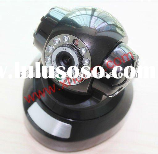 Wireless Pan Tilt Two Way Audio MSN H.264 SD card, Security Network IP Camera