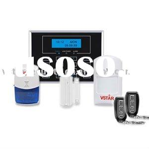 Wireless burglar alarm security systems