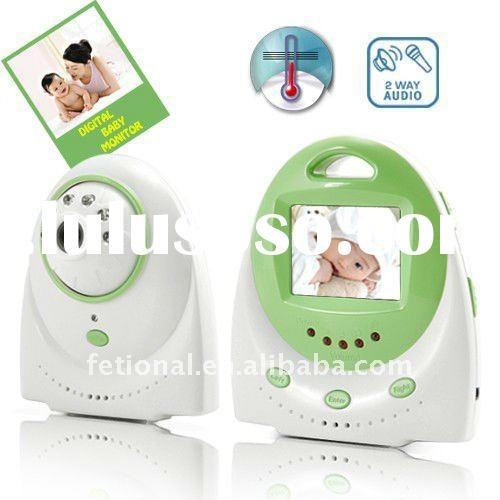 With Two Way Audio and Temperature Alarm - Cheap Baby Monitor