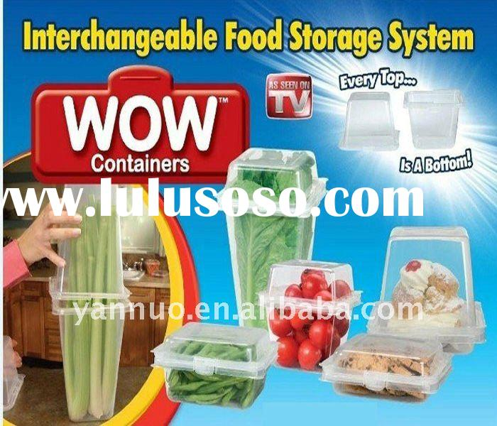 Wow Plastic Keep Fresh Storage Container Hot as seen on TV