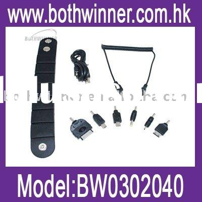 Wristband bracelet battery charger for iPod &PSP