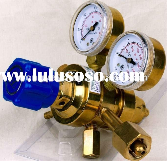YQ brass argon gas two- stage pressure regulator