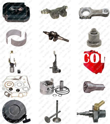 Yanmar 186F_Air Cooled Diesel Engine Spare Parts